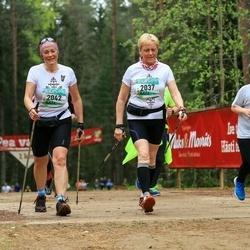 37. Tartu Maastikumaraton - Benita Locmele (2037), Agnese Smiltniece (2042)
