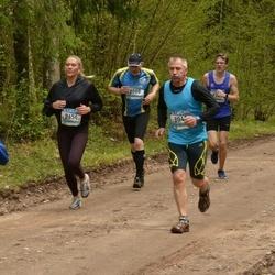 37. Tartu Maastikumaraton - Ahti Bleive (8088), Liis Märss (8654)