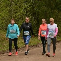 37. Tartu Maastikumaraton - Kadi Anajev (8049), Brigitta Mõttus (8635), Maichl Suur (8988), Reet Uibo (9129)