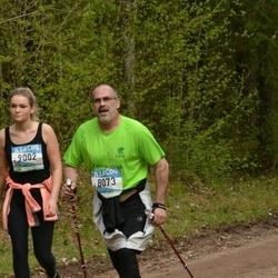 37. Tartu Maastikumaraton - Ahti Aumann (8073), Birgit Šuman (9002)
