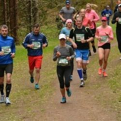 37. Tartu Maastikumaraton - Raines Laul (1611), Annika Vaiksaar (1898), Mait Kuusalu (2152), Kert Rang (2344), Isabel Mae (2447)