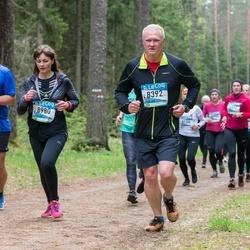 37. Tartu Maastikumaraton - Jaak Kukk (8392), Anna Stepanova (8980)
