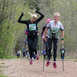37. Tartu Maastikumaraton - Piia Riim (2217), Pille Riim (2218)