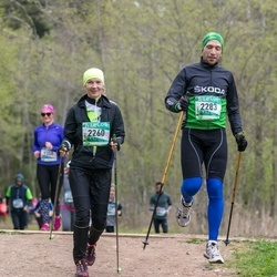 37. Tartu Maastikumaraton - Aive Tämm (2260), Raul Pavlov (2283)