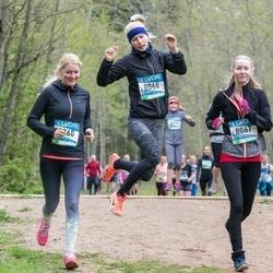 37. Tartu Maastikumaraton - Annika Aruots (8066), Jaanika Aruots (8067), Merilin Aruots (8068)