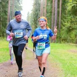 37. Tartu Maastikumaraton - Ene Ojaperv (2443), Meelis Maidla (9385)