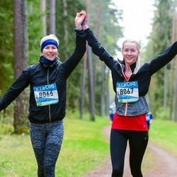 37. Tartu Maastikumaraton - Annika Aruots (8066), Jaanika Aruots (8067)