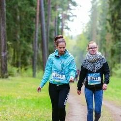 37. Tartu Maastikumaraton - Agnes Kindma (8318), Cäthrine Kõvask (8433)