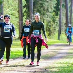 37. Tartu Maastikumaraton - Annika Kartsepp (8281), Marika Kartsepp (8282)