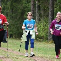 37. Tartu Maastikumaraton - Hele Hõbejärv (5031), Anna Protopopova (5155)