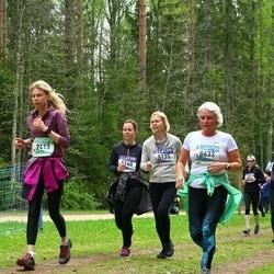 37. Tartu Maastikumaraton - Ave Kruusel (2413), Kadri Nõmmemaa (5135), Andra Mõttus (8633)