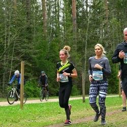 37. Tartu Maastikumaraton - Triin Muld (8319), Berit Lille (8520)