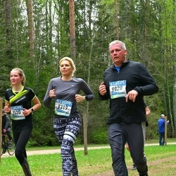 37. Tartu Maastikumaraton - Triin Muld (8319), Berit Lille (8520), Raimond Tamm (9028)