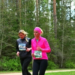 37. Tartu Maastikumaraton - Erle Mets (1976), Anneli Vellerind (9187)