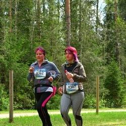 37. Tartu Maastikumaraton - Hele Koorits (8362), Annika Sokk (9307)