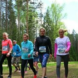 37. Tartu Maastikumaraton - Brigitta Mõttus (8635), Maichl Suur (8988), Reet Uibo (9129)