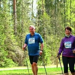 37. Tartu Maastikumaraton - Benno Johanson (8207), Merle Unger (9132)