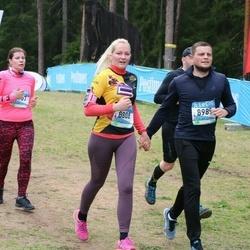 37. Tartu Maastikumaraton - Maret Einla (8107), Brenda Põlluste (8808), Risto Suurpere (8989)