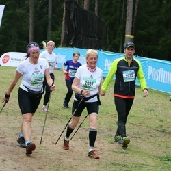 37. Tartu Maastikumaraton - Benita Locmele (2037), Agnese Smiltniece (2042), Margus Tiiman (9073)