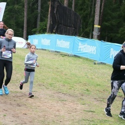 37. Tartu Maastikumaraton - Aet Urvast (5259), Elleka Paluoja (5264)