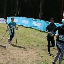 37. Tartu Maastikumaraton - Hele Hõbejärv (5031), Anna Protopopova (5155), Liina Adov (8166)