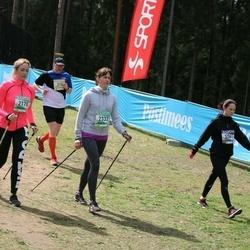 37. Tartu Maastikumaraton - Brett Hiielo (2170), Triin Toomeste (2332), Kristina Paide (5261)