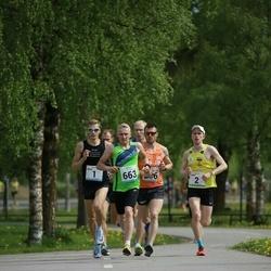48. jooks ümber Harku järve - Raido Mitt (1), Marti Medar (2), Rauno Reinart (663)