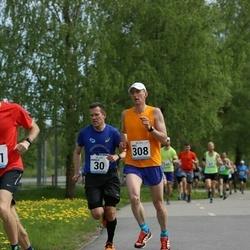48. jooks ümber Harku järve - Margus Muld (30), Tanel Kannel (308)