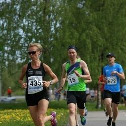 48. jooks ümber Harku järve - Marko Valter (15), Anne-Ly Palm (435)