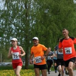 48. jooks ümber Harku järve - Aivar Jakobson (46), Peeter Kand (307)