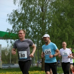48. jooks ümber Harku järve - Martin Kilp (80), Andres Uusma (585)