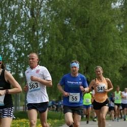 48. jooks ümber Harku järve - Tõnu Elismäe (55), Nele Laev (345), Jaagup Liiv (363)