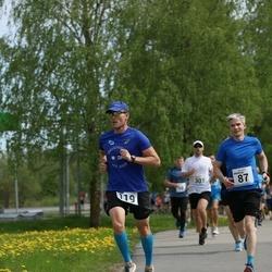 48. jooks ümber Harku järve - Andreas Meister (87), Üllar Gustavson (119)