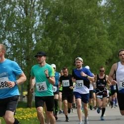 48. jooks ümber Harku järve - Andrei Lambinen (56), Mallor Jõesoo (282)