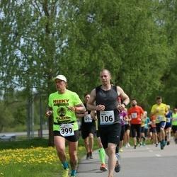 48. jooks ümber Harku järve - Toomas Orasmaa (106), Mihkel Mäemat (399)