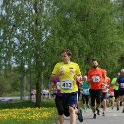 48. jooks ümber Harku järve - Mart Narva (413)