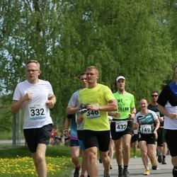 48. jooks ümber Harku järve - Tarmo Kruusimäe (332), Riho Laidna (346)