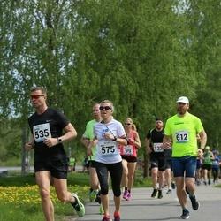 48. jooks ümber Harku järve - Viktor Siik (535), Kaili Toomel (575), Tanel Väli (612)