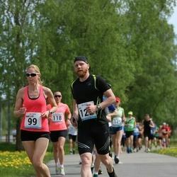 48. jooks ümber Harku järve - Mari-Liis Liipa (99), Ivo Hindreus (122)