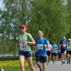 48. jooks ümber Harku järve - Maidu Lääne (128), Kristiina Sagaja (145)