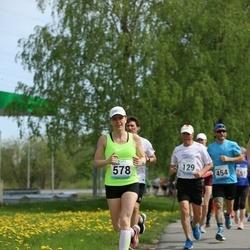 48. jooks ümber Harku järve - Ingrid Treu (578)
