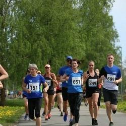 48. jooks ümber Harku järve - Aimi Pihel (151), Diana Ošur (651)