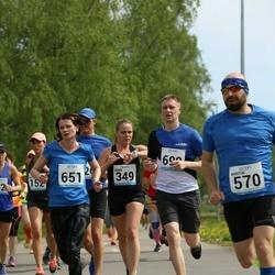 48. jooks ümber Harku järve - Diana Ošur (651), Remo Reinsalu (690)