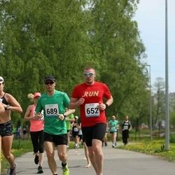 48. jooks ümber Harku järve - Allan Tartu (652), Raine Pajo (689)