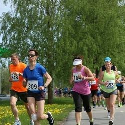 48. jooks ümber Harku järve - Ruth Trääder (164), Edit Kannel (309)