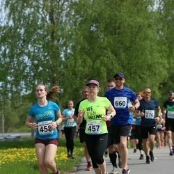 48. jooks ümber Harku järve - Jelena Pjatkova (457), Helena Riin Plado (458)