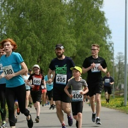 48. jooks ümber Harku järve - Märten Mõttus (405)