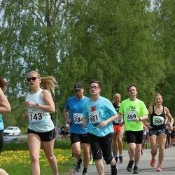 48. jooks ümber Harku järve - Elina Laanep (143), Martin Velbri (601)