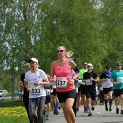 48. jooks ümber Harku järve - Jaanika Parts (437), Hille Sepa (533)