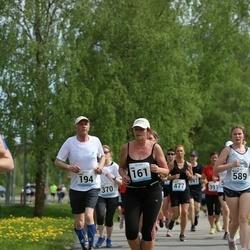 48. jooks ümber Harku järve - Kaie Valk (161), Hans Vallner (194)